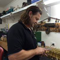Rob building padlocks